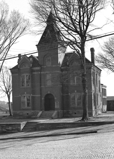 CVAM in 1940 Troup Co. Jail